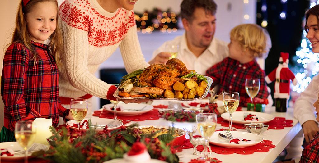 Menús saludables de Navidad para niños