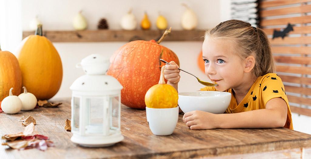 Menú semanal de temporada otoño para los niños