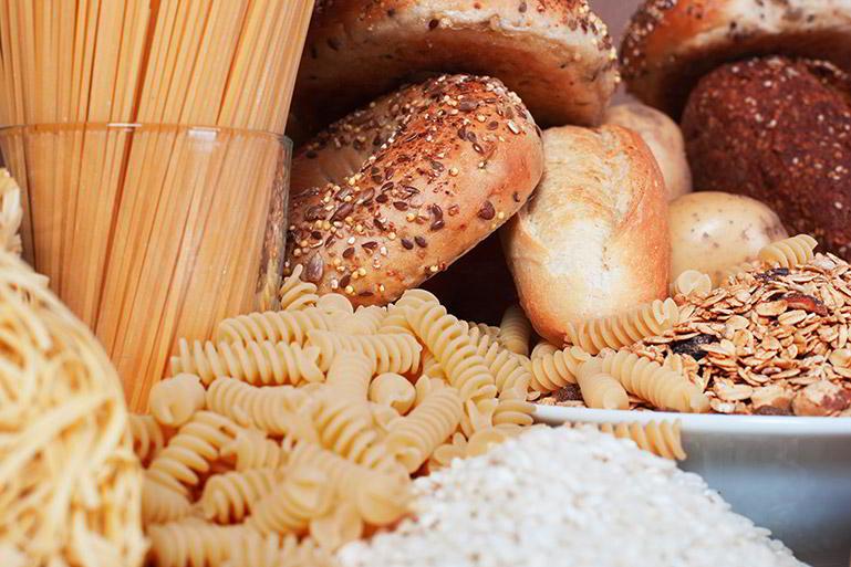 Proporciones de cereales y tubérculos