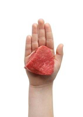 Carne roja 40-80 gramos
