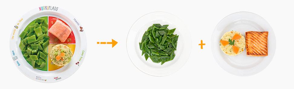 Infografía para preparar un plato de pescado y cuscús