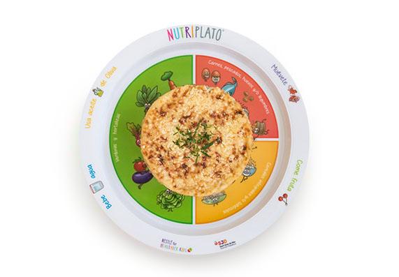 Receta: Pastel de patata con verduras y carne