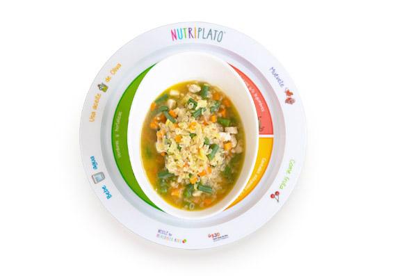Receta: Sopa completa de letras