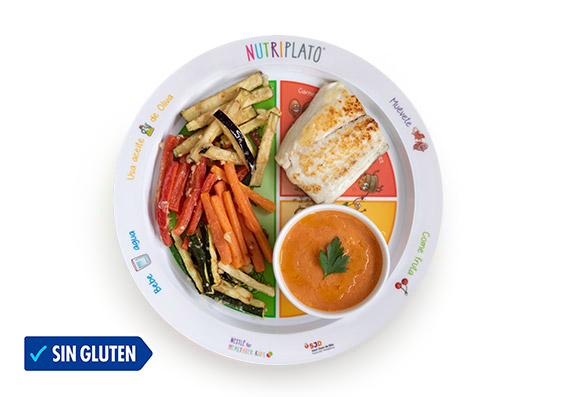 Receta tempura de verduras, boniato y dorada