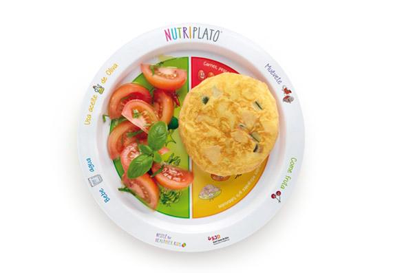 Receta: Tortilla de patatas y calabacín