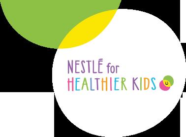 Logo Nestlé for Healthier Kids