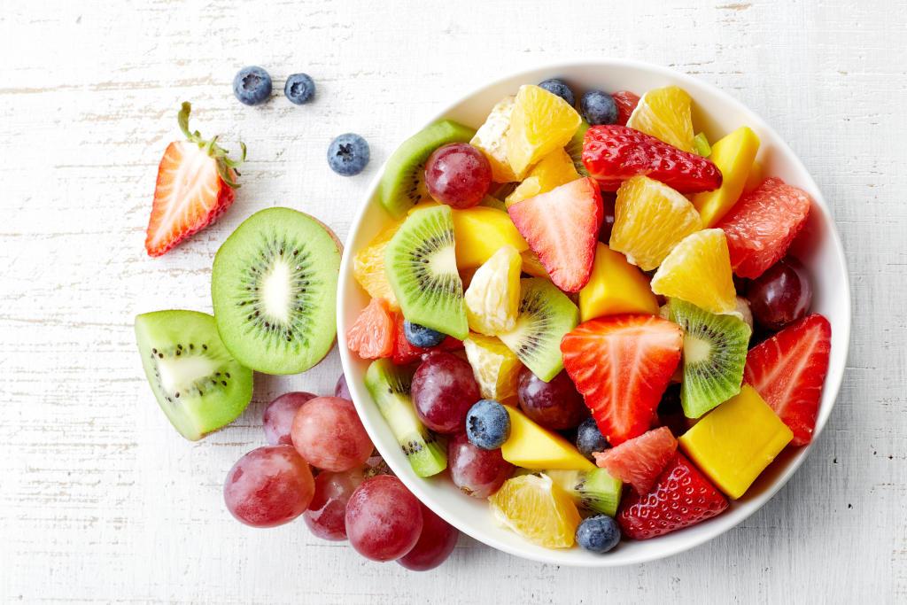 Bol de frutas variadas